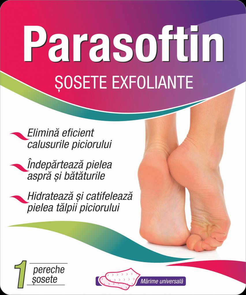 Parasoftin sosete exfoliante